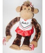 Aurora Carmen Monkey Cheerleader Rah Plush Stuf... - $19.98