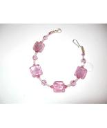 Pink sterling silver Italian Moretti lLampwork ... - $17.00