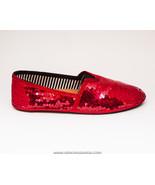 Sequin | Red Alpargata Canvas Classics Casual S... - $44.00