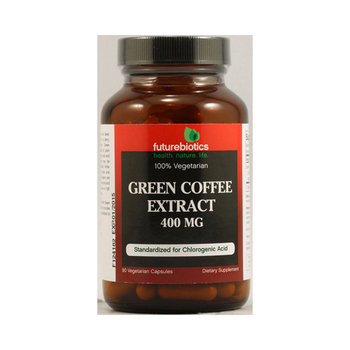 Green coffee 400 mg dietary supplement