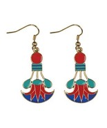 Cleopatra Lotus Egyptian Earrings - $9.00