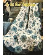 X388 Crochet PATTERN ONLY Afghans Pattern Spira... - $9.45