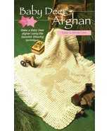 Y018 Crochet PATTERN ONLY Baby Deer Afghan Swed... - $8.45