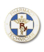Pharmacy Technician Lapel Pin RX Caduceus Drug ... - $12.57