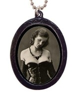 Wicked Corset Flapper Esoteric Risque Vamp Neck... - $8.99