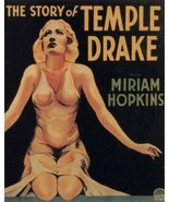 The Story Of Temple Drake 1933 DVD - $9.00
