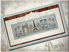 Afternoon In Paris cross stitch chart Country C... - $7.20