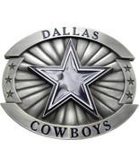 Licensed  Dallas Cowboys Star Logo Belt Buckle - $24.00
