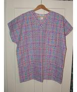 Multi-Colored Checkerboard Print  Size XL  Wome... - $7.99