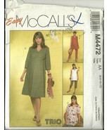 McCall's Sewing Pattern 4472 Misses Womens Mate... - $19.99