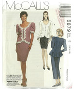 McCall's Sewing Pattern 6879 Misses Womens Skir... - $19.98