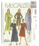 McCall's Sewing Pattern 3394 Misses Womens Dres... - $12.00