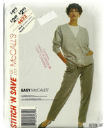McCall's Sewing Pattern 4623 Misses Womens Card... - $12.00