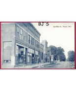 Pioneer Ohio OH Postcard Main Stores BJs - $17.50