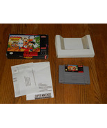 Disney's Goof Troop  (Super Nintendo, 1993) TES... - $49.49