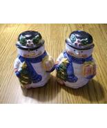 Snowman Salt and Pepper Shaker Set - $4.59