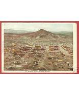 GOLDFIELD NEVADA Birdseye Town Mountain 1908 BJs - $15.00