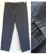 Eileen Fisher JEANS cropped PANTS jegging INDIG... - $60.08
