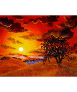 Original Painting California Landscape Oak Tree... - $299.00