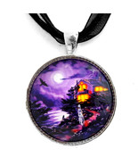 Lenore Raven Crow Ghost Haunted House Ocean Got... - $29.99