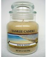 Yankee Candle Small Jar Sun nSand HouseWarmer O... - $15.29