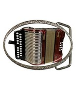 ACCORDIAN POLKA BAND MUSIC INSTRUMENT BELT BUCKLE - $12.99