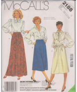 McCall's 2188 Misses Skirt Sewing Pattern Size ... - $5.00