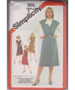 Simplicity 5196 Misses Jumper Sewing Pattern Si... - $6.00
