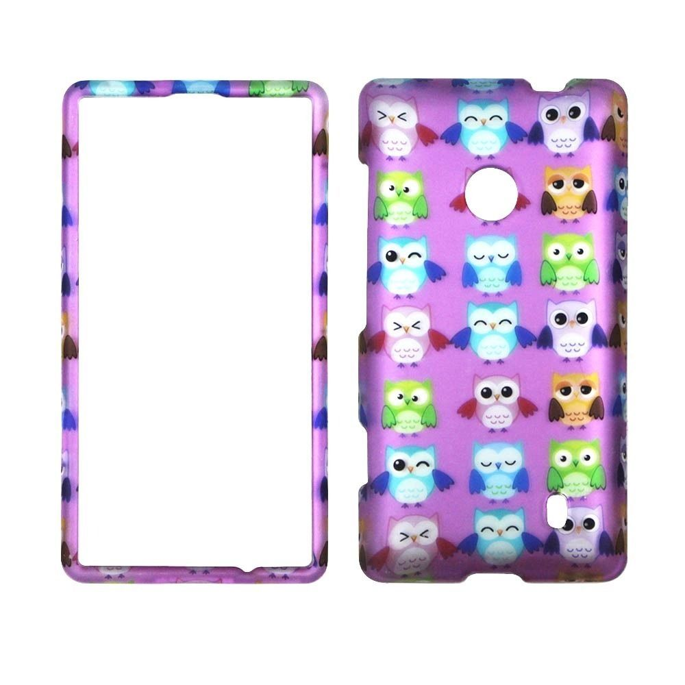 Springmulti owls case for nokia lumia 520 521 n520 phone cover cases