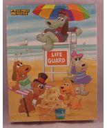 Vintage 1986 Pound Puppies 63-pc PUZZLE Beach S... - $8.00