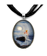 Annabel Lee Haunted Cliff Victorian Poe Ghost G... - $32.99