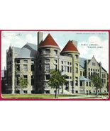 TOLEDO OHIO Public Library OH Postcard - $4.50
