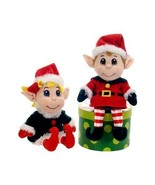 Fiesta Toys 11'' Christmas Holiday Plush SANTA'... - $28.95