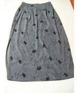 Rikki J.Gray Skirt Mid Length Rear zipper Elast... - $16.50