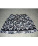 New BCBGeneration Mini Flair  Pink Black Silk L... - $14.95
