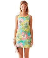 NEW Lilly Pulitzer Delia Shift floral Dress Sho... - $109.00