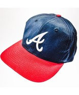 Atlanta Braves MLB Red White Blue Adjustable Ba... - $19.78