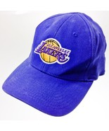 Nba Los Angeles Lakers Blue Adjustable Baseball... - $19.78
