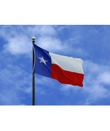 Texas State Flag 3 x 5 foot - $10.00