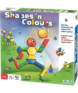 SHAPES IN COLOURS Multi Level Game ~NEW~ - $25.76