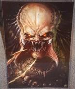 The Predator Glossy Print 11 x 17 In Hard Plast... - $24.99