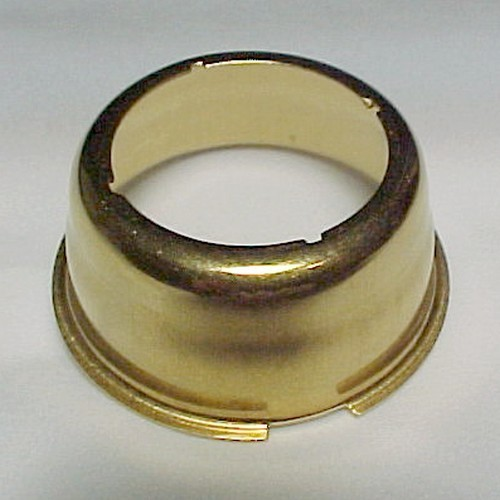 Brass Kone Kap Mantle Adaptor for Aladdin R150 Lox-On & Lamp Models 3 - 11 New