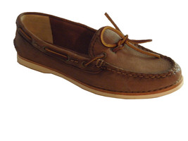 New Frye Women's Quincy Tie Size 5.5 M Brown Le... - $79.00