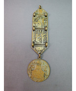 VTG Antique Egypitan Revival Pocket Watch Fob C... - $79.18