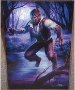 The Wolfman Glossy Print 11 x 17 In Hard Plasti... - $24.99