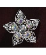 Vintage Juliana AB Sparkling Adjustable Ring 5 ... - $74.25