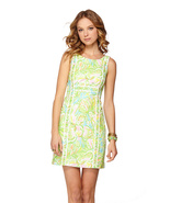 NEW Lilly Pulitzer Fryer Shift cotton Dress 4/S... - $109.00