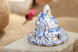 Ceramic bell with painting - $38.05