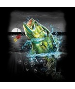 Bass  Wilderness Fishing  Tshirt   Sizes/Colors - $11.83 - $15.79