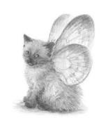 Charcoal Drawing Himalayan Tabby  Cat Sweatshir... - $19.70 - $27.23